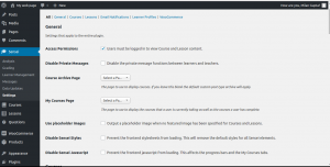 sensei wordpress course plugin