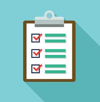 checklist for online video course