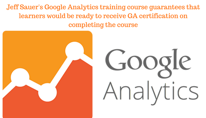 Jeff Sauer's Advanced Google Analytics Course uses the TVOD model