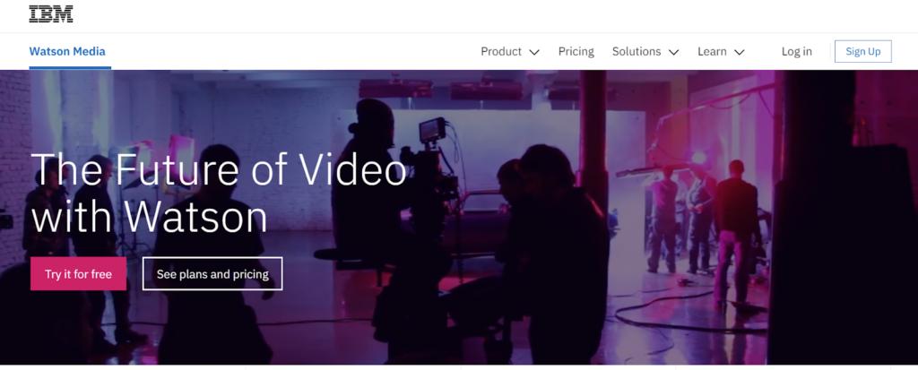 IBM video CMS