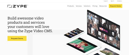 Zype VIdeo CMS