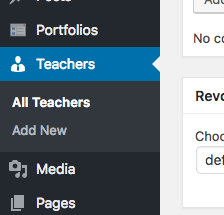 Add teachers to LMS wordpress