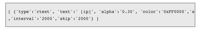 Skip sample code