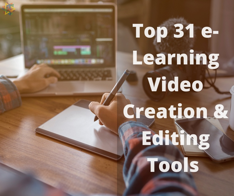 elearning videos, e-learning video editors, e-learning video software