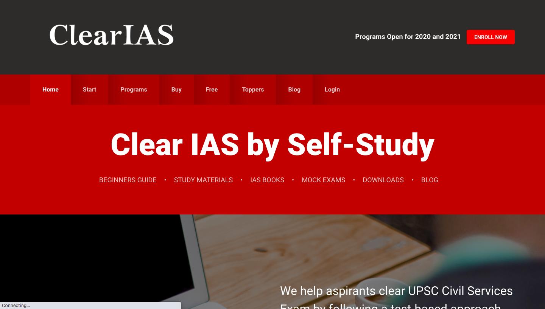 Clear IAS online IAS Coaching