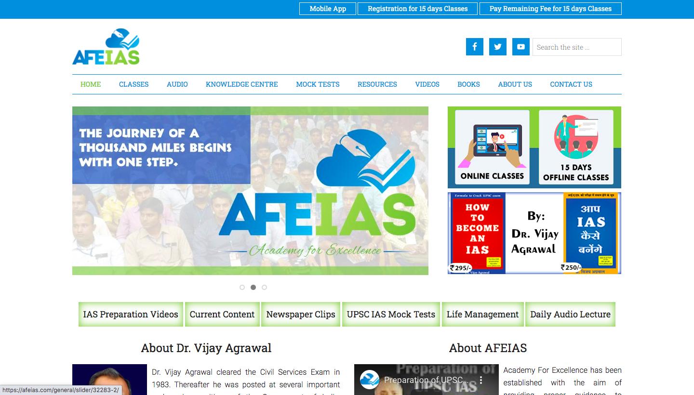 AFEIAS Online IAS coaching