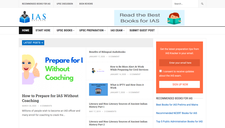 IAS Kracker online IAS coaching
