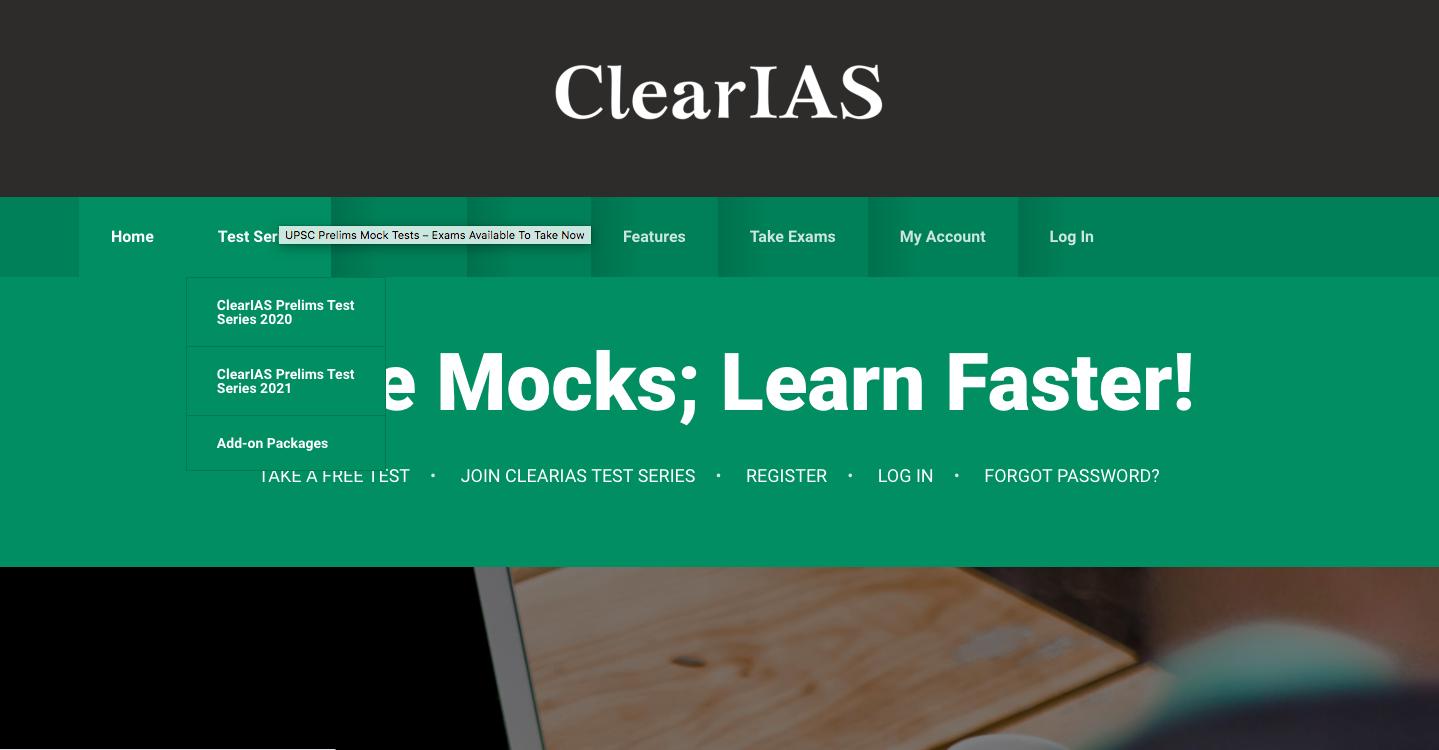 ClearIAS online IAS coaching