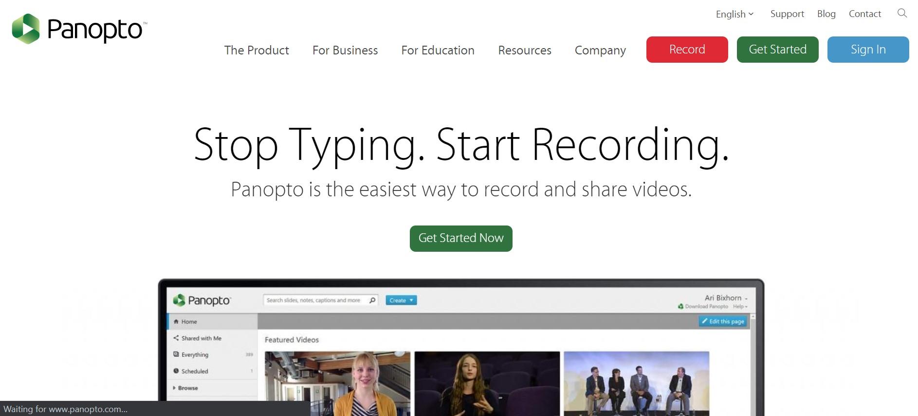 {anopto private video hosting