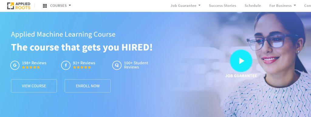 applied ai - online learning platform