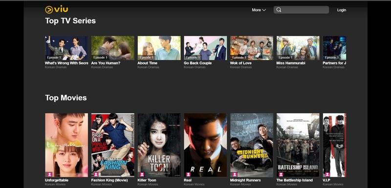 Viu online movie app