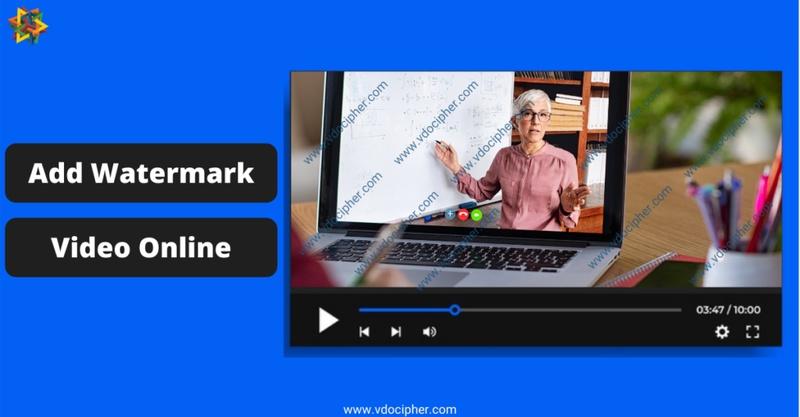 Online Video Watermarking